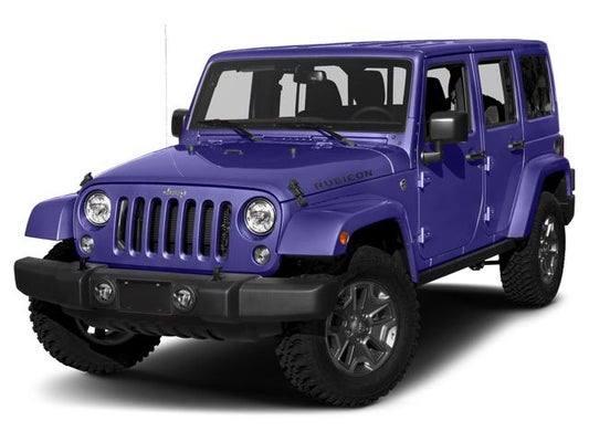 Jeep Wrangler Jk >> 2018 Jeep Wrangler Jk Unlimited Rubicon