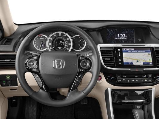 2017 Honda Accord Sedan EX-L w/Navigation and Honda Sensing